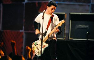 Green Day's Billie Joe Armstrong in 1994