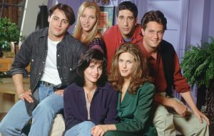 The lovable cast of 'Friends'