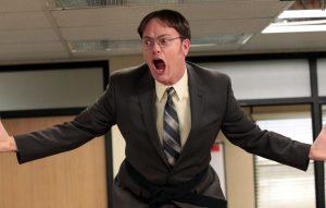 Rainn Wilson as Dwight Schrute in 'The Office'