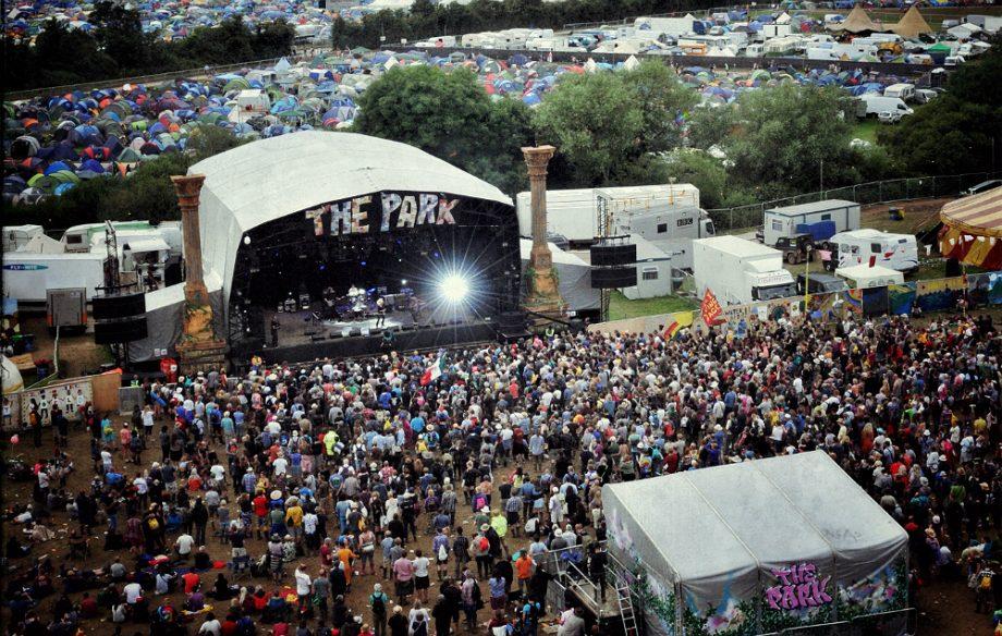 The Park Stage at Glastonbury
