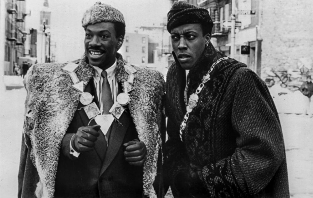 Eddie Murphy and Arsenio Hall in 'Coming To America'