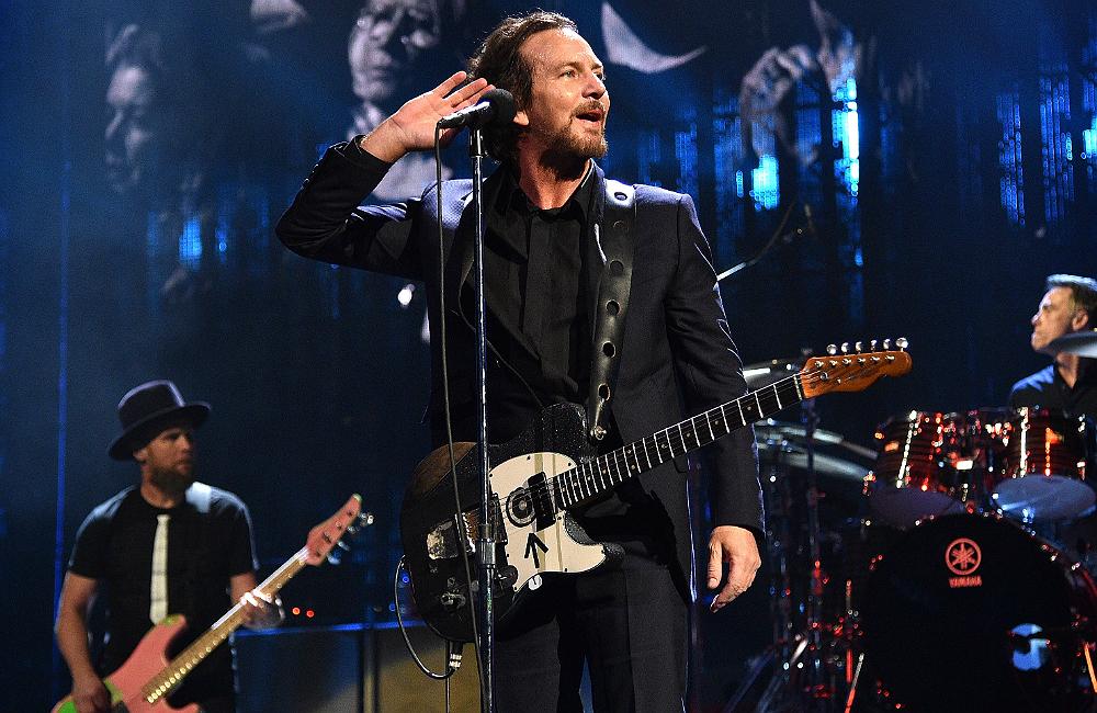 Eddie Vedder Tour Merchandise
