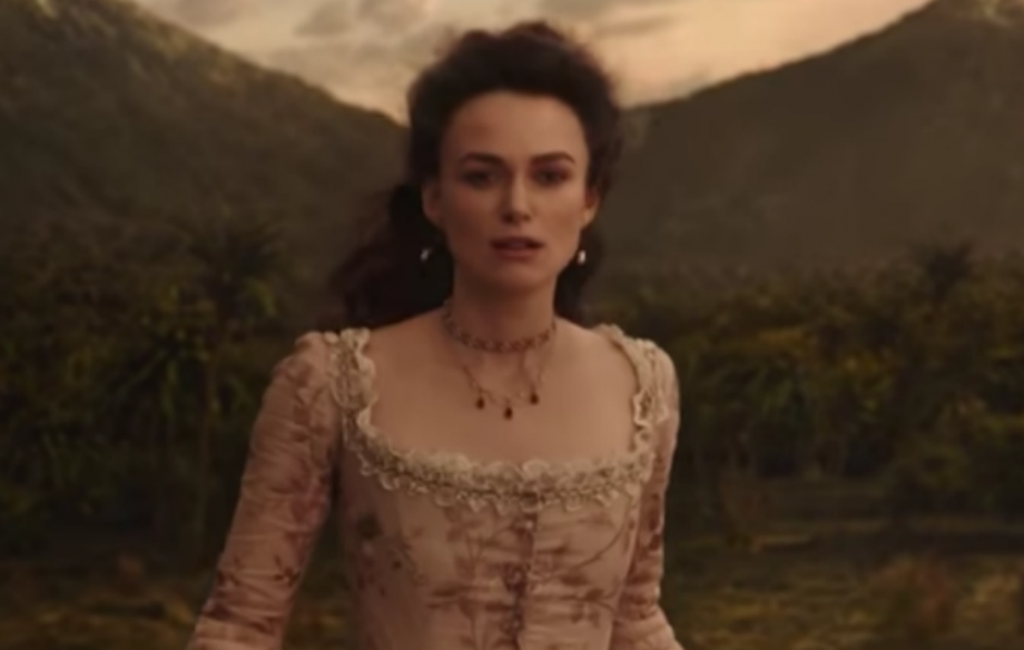 Keira Knightley in 'Pirates Of The Caribbean: Salazar's Revenge'