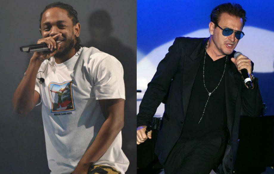 Kendrick Lamar and Bono