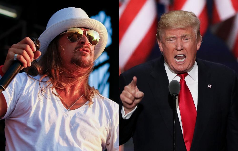 Kid Rock Sarah Palin And Ted Nugent Visited Donald Trump