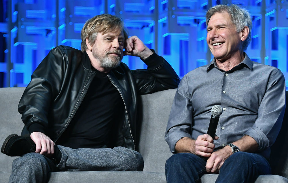 Harrison Ford And Mark Hamill Reunite At Star Wars Event Nme