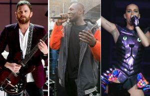Kings of Leon, Stormzy, Katy Perry
