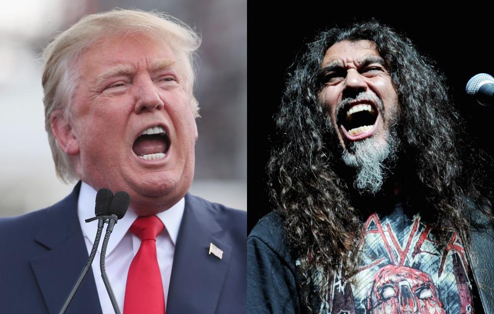 Slayer S Tom Araya Calls Trump Critics A Nation Of