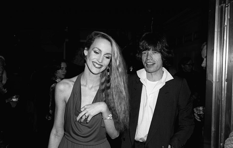 jerry hall en mick jagger