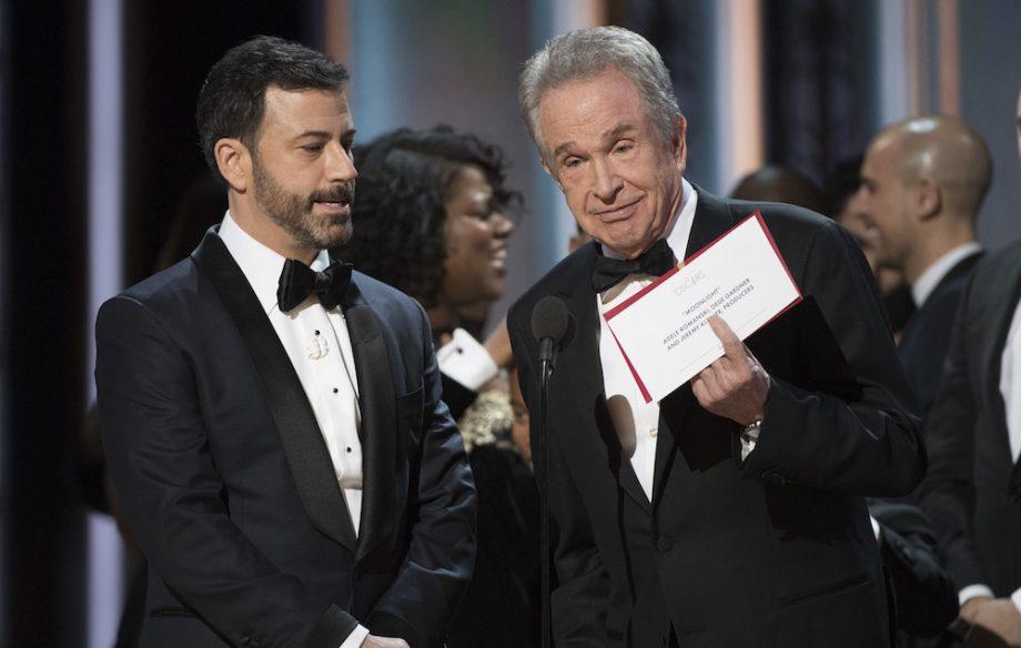 Watch Warren Beatty discuss Oscars Best Picture mistake - NME