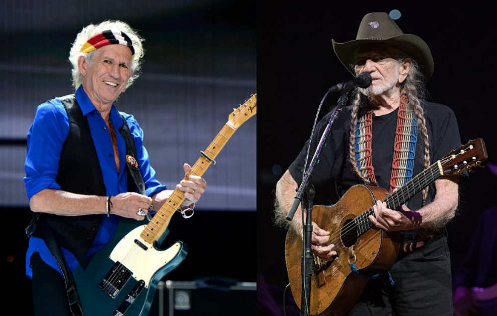 Watch Keith Richards And Willie Nelson Perform Together