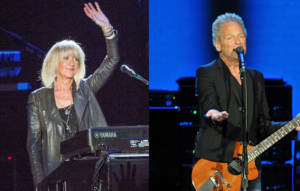 Christine McVie and Lindsey Buckingham