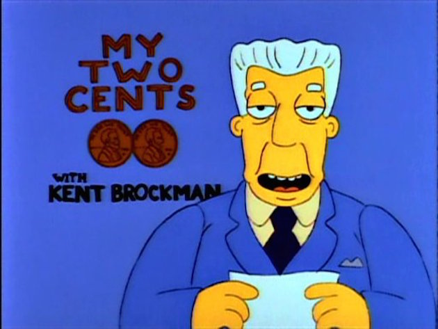 Kent Brockmans Greatest Quotes On The Simpsons