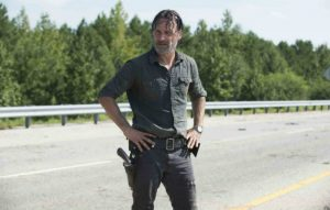 Andrew Lincoln as Rick in 'The Walking Dead'
