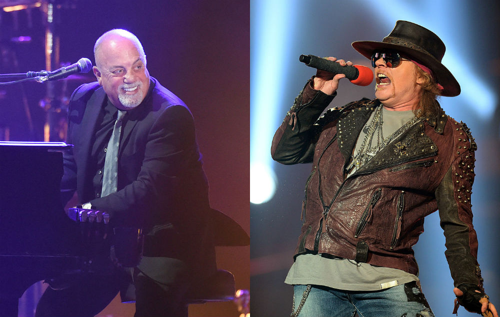 Watch Axl Rose And Billy Joel Cover Ac Dc S Highway To