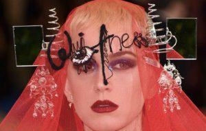 Katy Perry met gala album title