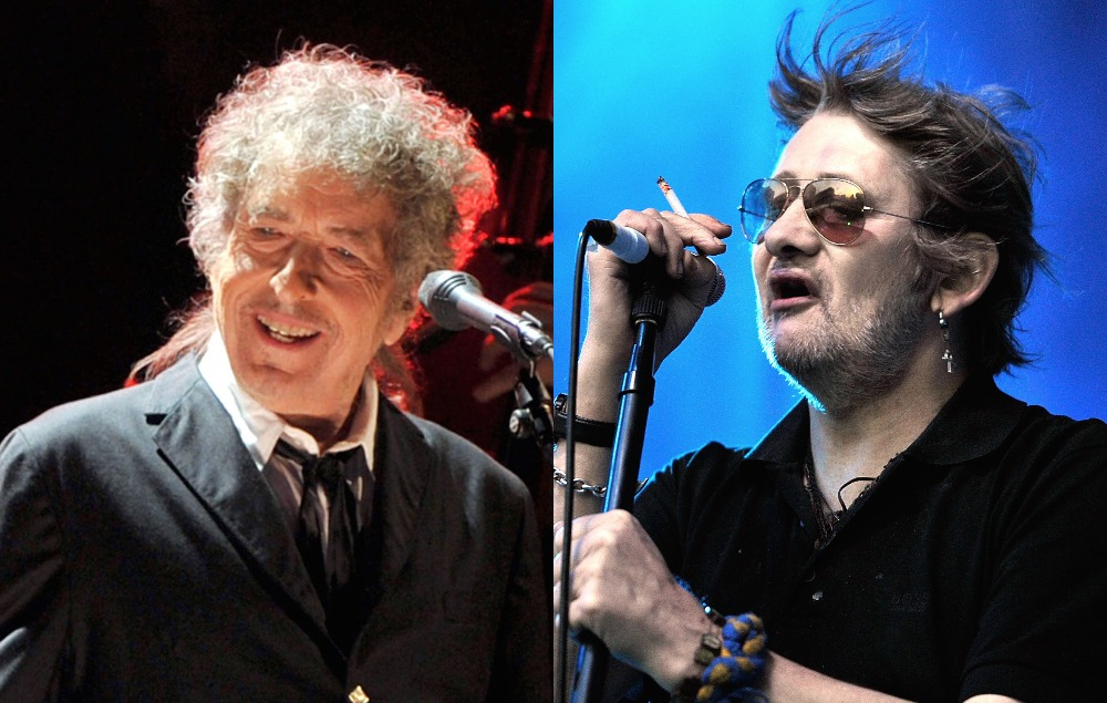 See A Photo Of Bob Dylan Hanging Out With Shane Macgowan