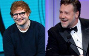 Ed Sheeran, Russell Crowe