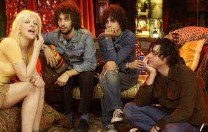 Courtney Love, The Strokes' Albert Hammond Jr and Fabrizio Moretti, and Ryan Adams