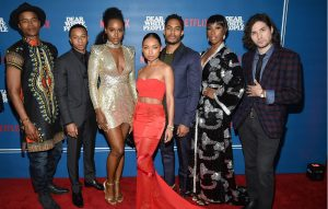 Castmembers from 'Dear White People'