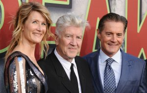 Laura Dern, David Lynch and Kyle MacLachlan