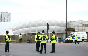 Scenes after the terror attack at an Ariana Grande gig at Manchester Arena