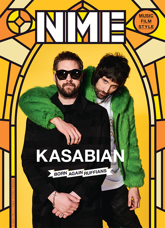Kasabian on the cover of NME