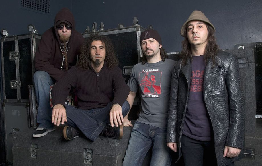 System of a Down Photocall - May 3rd, 2005