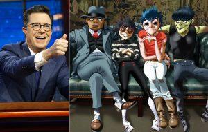 Gorillaz & Stephen Colbert
