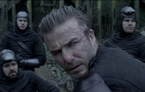 David Beckham in 'King Arthur: Legend of the Sword'