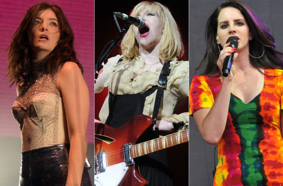 Lorde, Courtney Love, Lana Del Rey