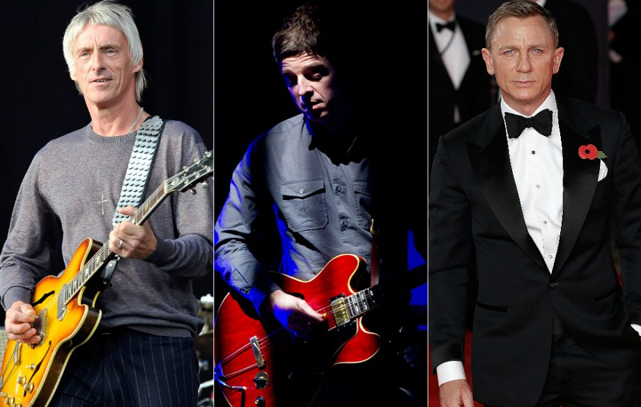 Paul Weller and Noel Gallagher have been working on a James Bond song together