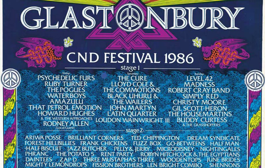 Every Glastonbury Poster And Line Up Since 1970 Nme
