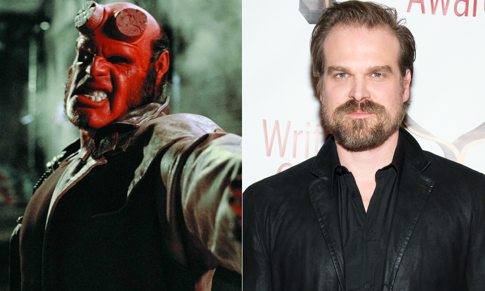 new hellboy movie is in the works with stranger things star david harbour nme