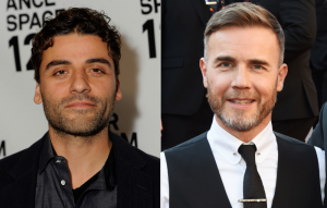 Oscar Isaac and Gary Barlow