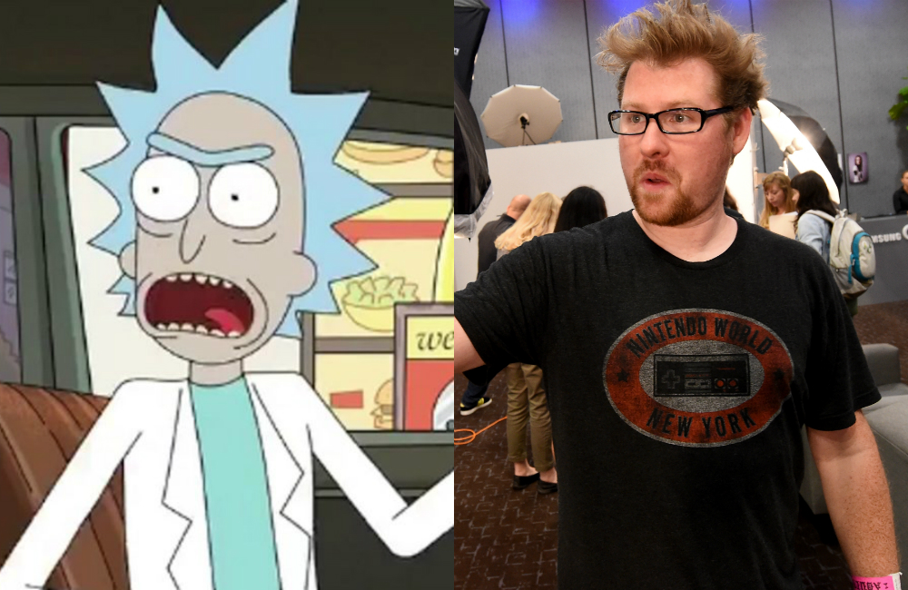 Watch Rick And Morty S Justin Roiland Do Shots And Method