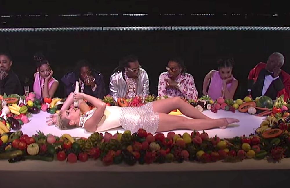 Zerchoo Music - Watch Katy Perry perform 'Bon Appétit' on ...