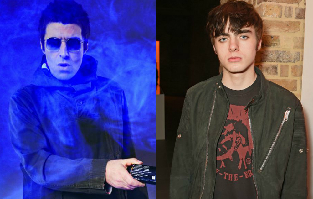 Liam Gallagher Responds To Son Lennon Wearing A Blur T