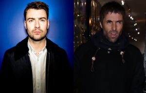 Liam Fray and Liam Gallagher
