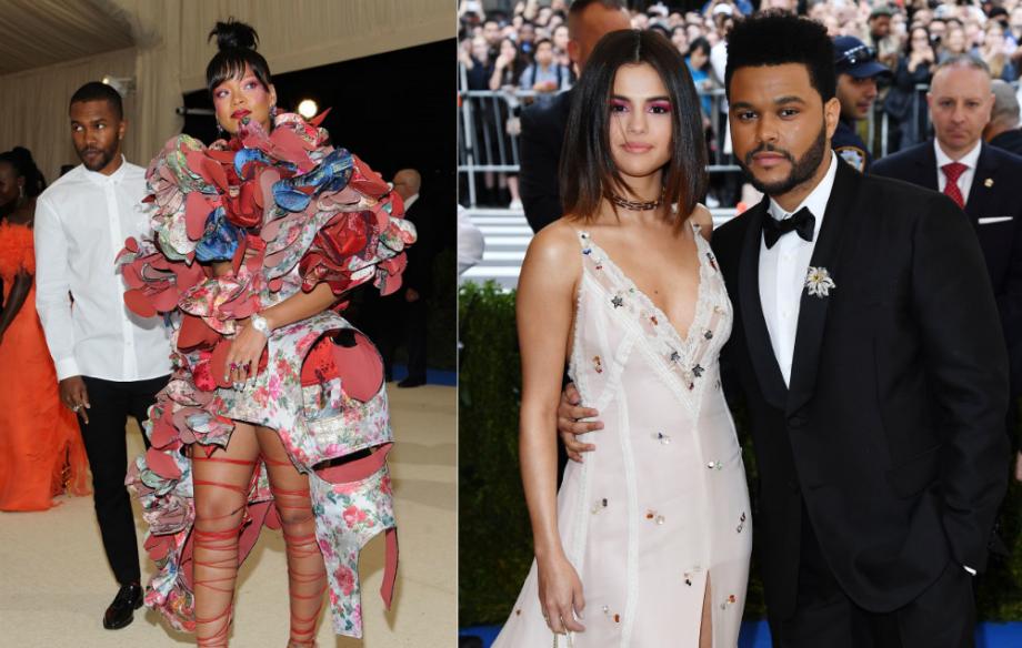 Frank Ocean Rihanna The Weeknd And More Attend Met Gala
