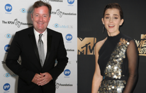 Piers Morgan and Emma Watson