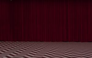 The Red Room from 'Twin Peaks'