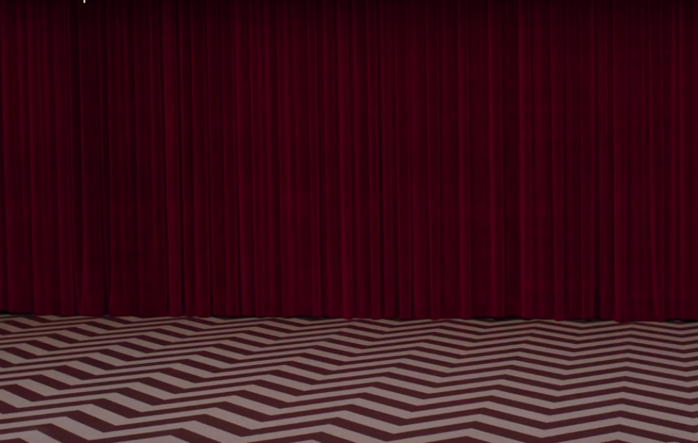 Twin Peaks Red Room Brought To Life In New Street Art