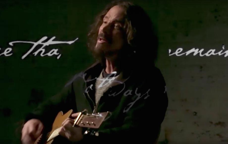 Chris Cornell The Promise video