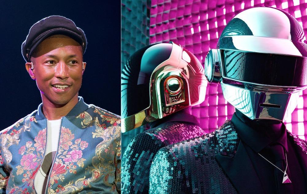 Pharrell Williams addresses Daft Punk Coachella rumours - NME