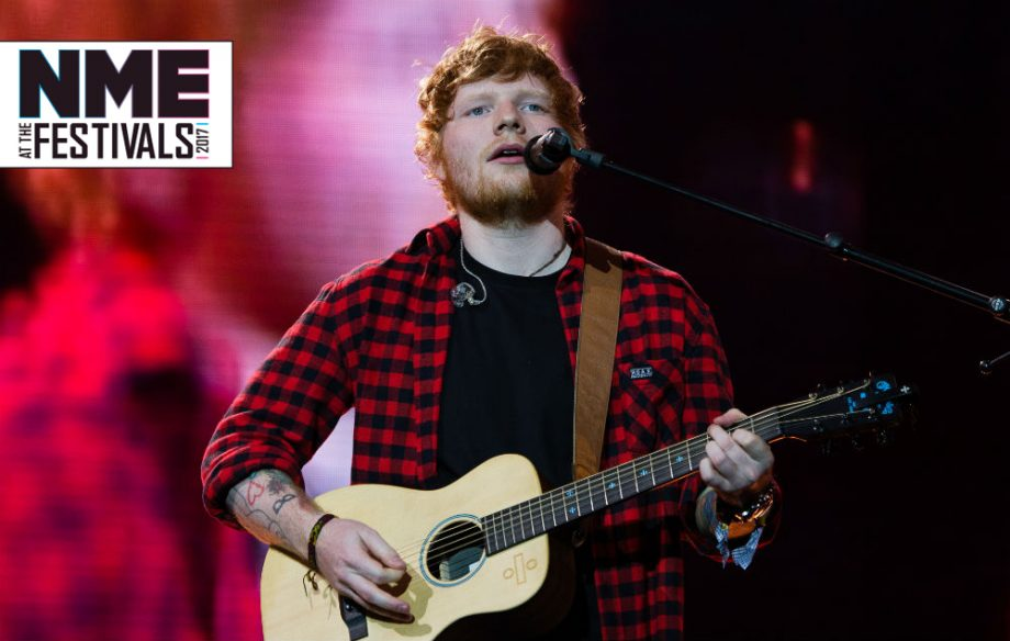 Ed Sheeran responds of accusations of using 'backing track