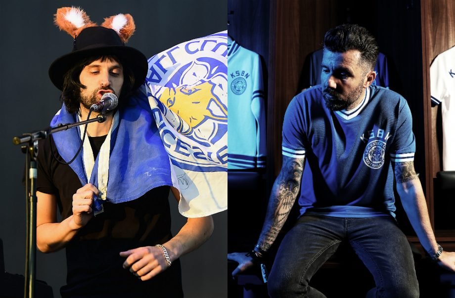 Kasabian's Serge Pizzorno and Muzzy Izzet