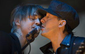 The Libertines' Pete Doherty and Carl Barat
