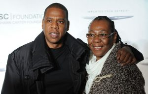 Jay-Z and mother Gloria Carter