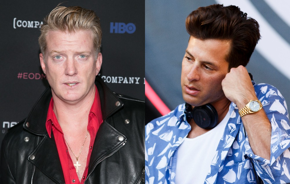 Josh Homme Says Uptown Funk Convinced Him To Work With